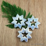 3.  Salt Dough Snowflake Ornaments