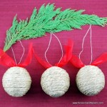 4.  String Ornaments